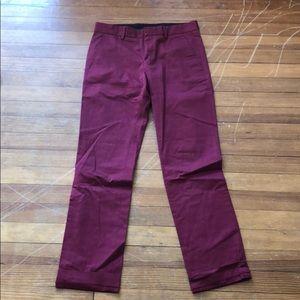 Topman Maroon trousers